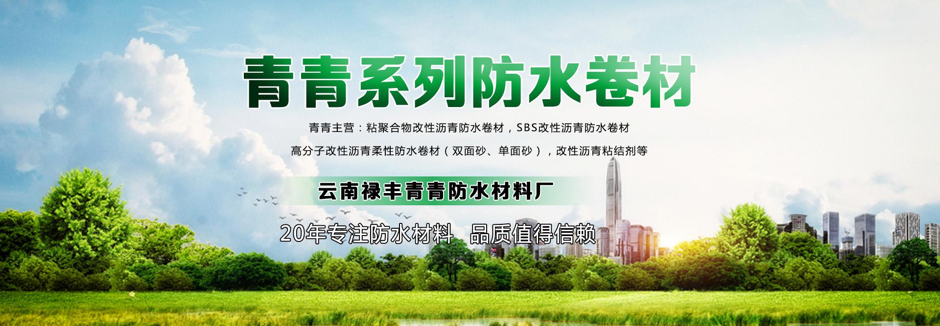 云南昆明青青防水材料